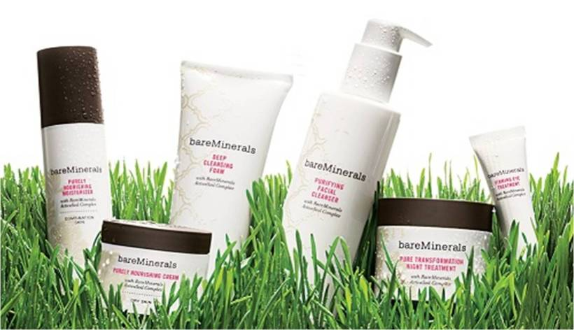 Bare Minerals Skincare Range